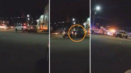 En Ensenada, Baja California, se reportó un enfrentamiento entre criminales y agentes de la fiscalía General del Estado (Foto: Captura de pantalla)