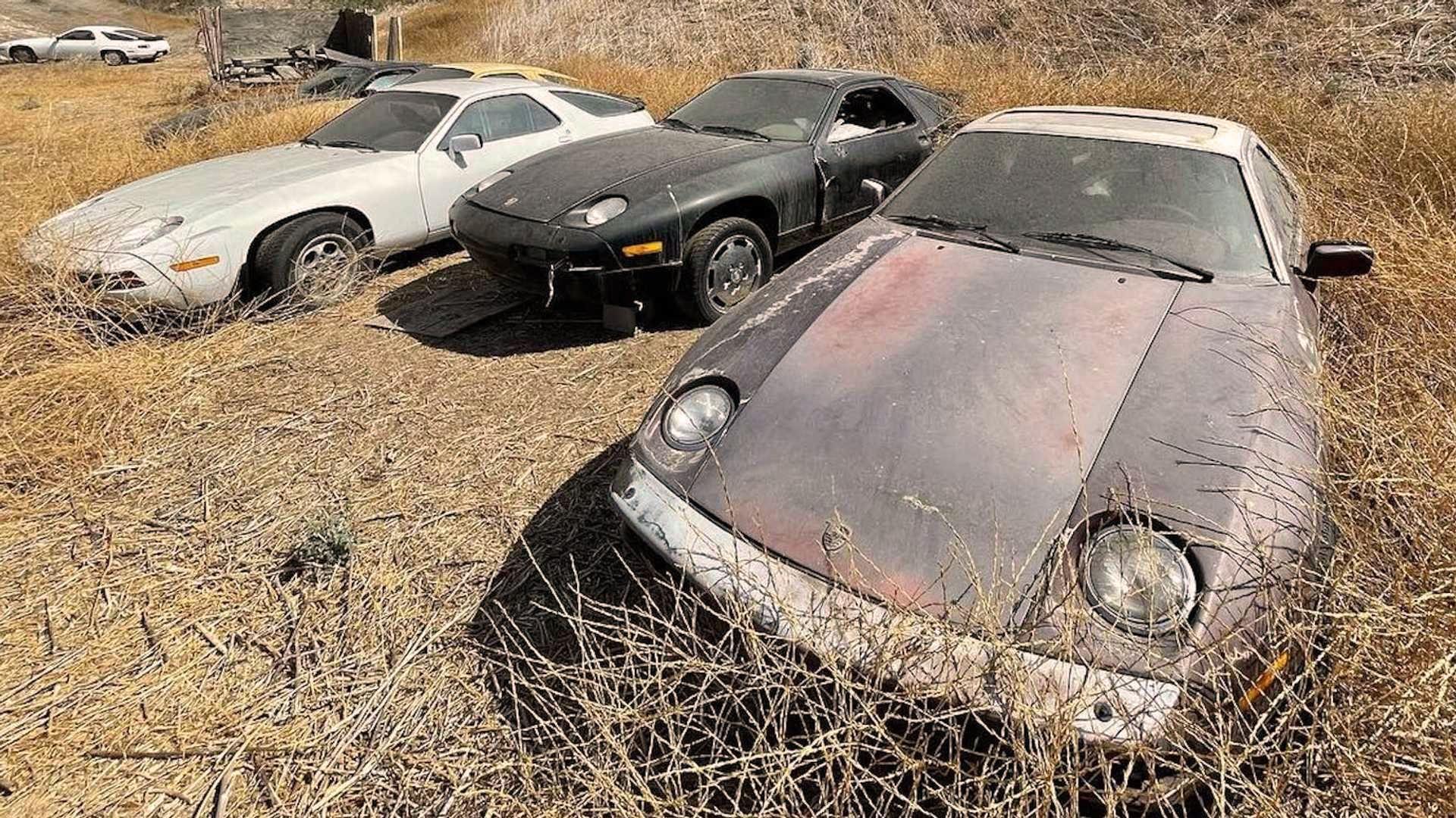 Porsche abandonados