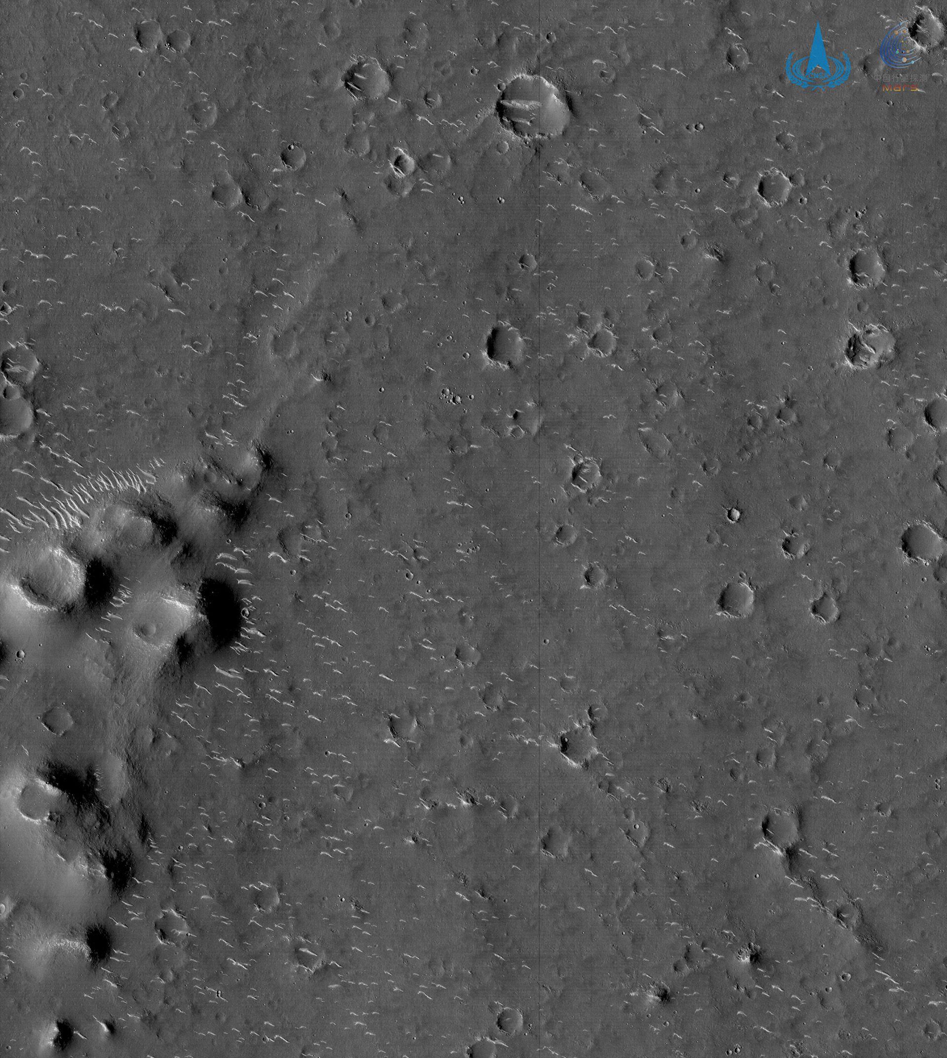sonda china Tianwen-1 Marte