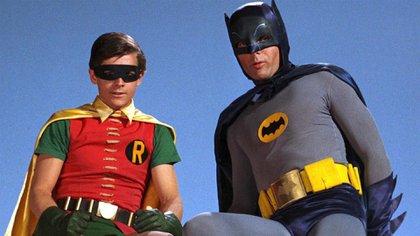 Batman y Robin, los Encapotados, fueron uno de los grandes éxitos de la tevé de los '60