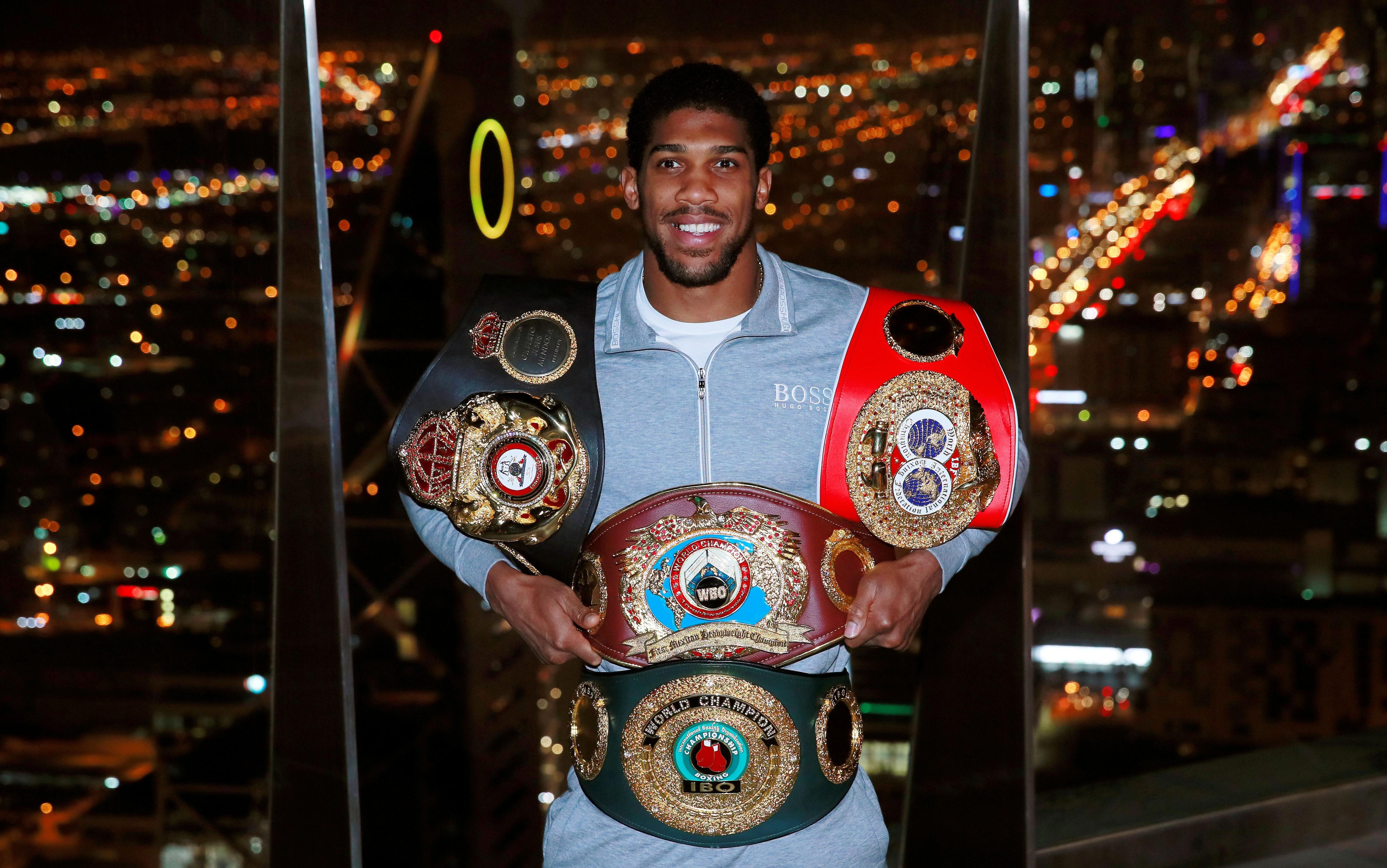 Joshua recuperó sus títulos en Arabia Saudita contra Andy Ruiz Jr. (Foto: Reuters)