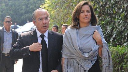 Margarita Zavala y Felipe Calderón concluyeron los alegatos de oída ante el TEPJF, para obtener el registro de México Libre como partido político (Foto: Cuartoscuro)