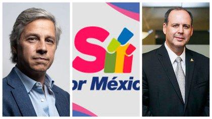 Los empresarios que lideran Sí por México (Foto: Especial)