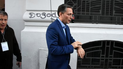 El intendente de Esteban Echeverría, Fernando Gray. (Nicolás Stulberg)
