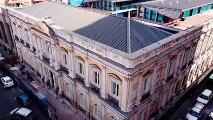 Así luce actualmente el palacio Pereira, listo para cumplir una nueva función histórica al convertirse en sede de la Convención Constituyente de Chile