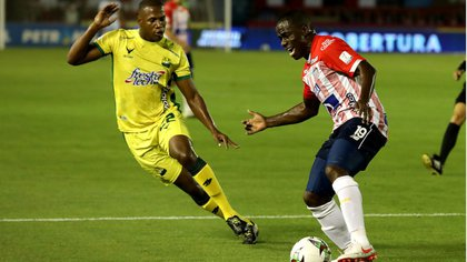 Junior empató con Bucaramanga 1 a 1. Foto: Colprensa