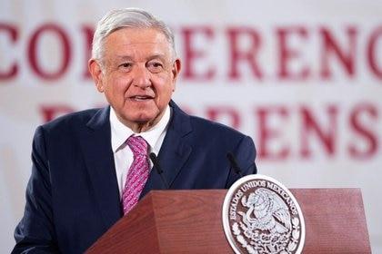 Andrés Manuel López Obrador indicó que hay datos que indican que la epidemia ya está perdiendo fuerza  (Foto: Reuters)