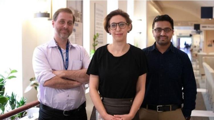 Dr. Robert Kozak, Dr. Samira Mubareka, Dr. Arinjay Banerjee de la Universidad de Toronto, que lograron el avance