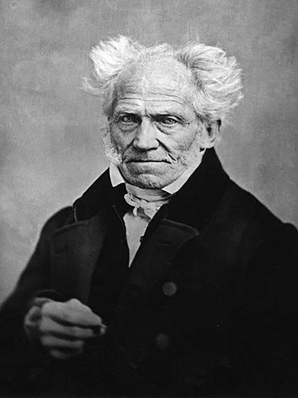 El filósofo Arthur Schopenhauer (1788-1860)