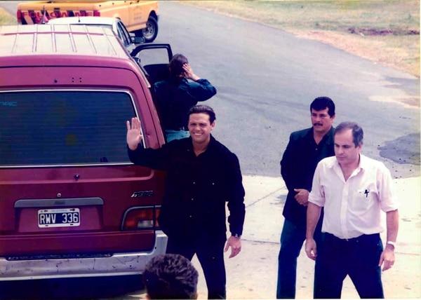 Luis Miguel junto a su ex mánager, Polo Martínez