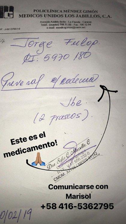 La receta que compartió la venezolana sobre el remedio que necesita su hermano