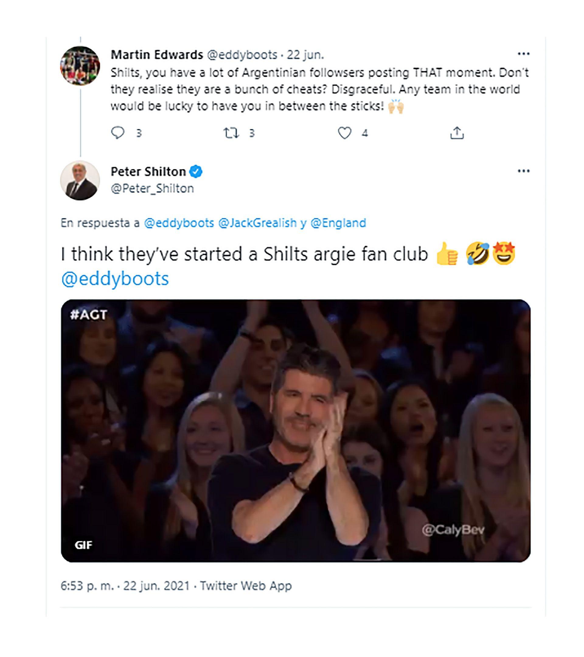 Peter Shilton se pelea con fanáticos argentinos