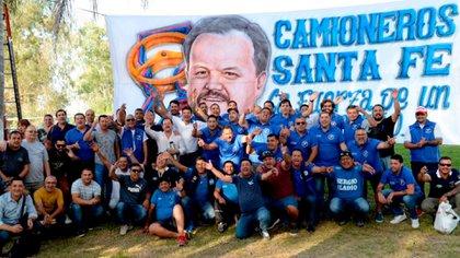 Sergio Aladio lidera desde hace cinco años a los camioneros santafesinos y tiene mandato hasta 2024