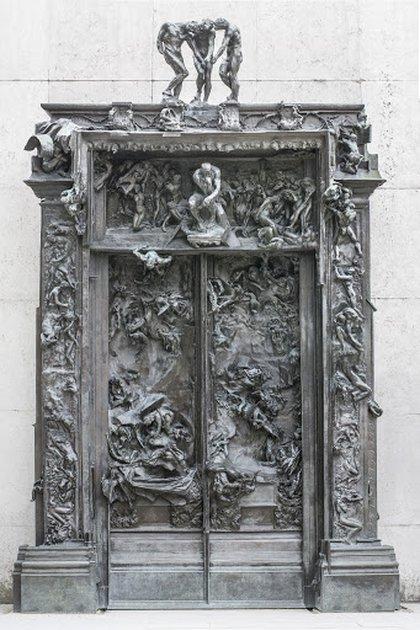 """""""La puerta del Infierno"""", de Rodin y Camille Claudel"""