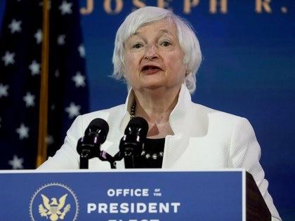 FOTO DE ARCHIVO: La secretaria del Tesoro de Estados Unidos, Janet Yellen, en Wilmington, Delaware, Estados Unidos, 1 de diciembre de 2020.REUTERS/Leah Millis/File Photo