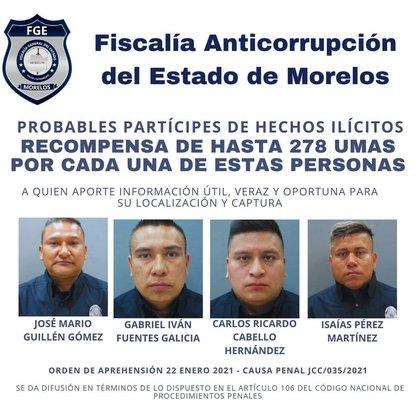 (Photo: Facebook / Morelos Anti-Corruption Prosecutor's Office)
