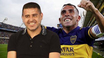 El conflicto por la renovación de Tevez se solucionó por el llamado de Riquelme a Carlitos