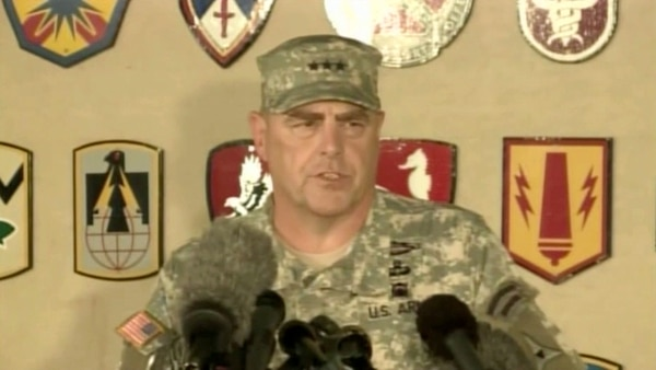 El jefe del Ejército de los Estados Unidos, Mark Milley