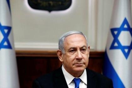El primer ministro israelí Benjamin Netanyahu no logró formar gobierno tras las elecciones de abril y septiembre (REUTERS/Ronen Zvulun)