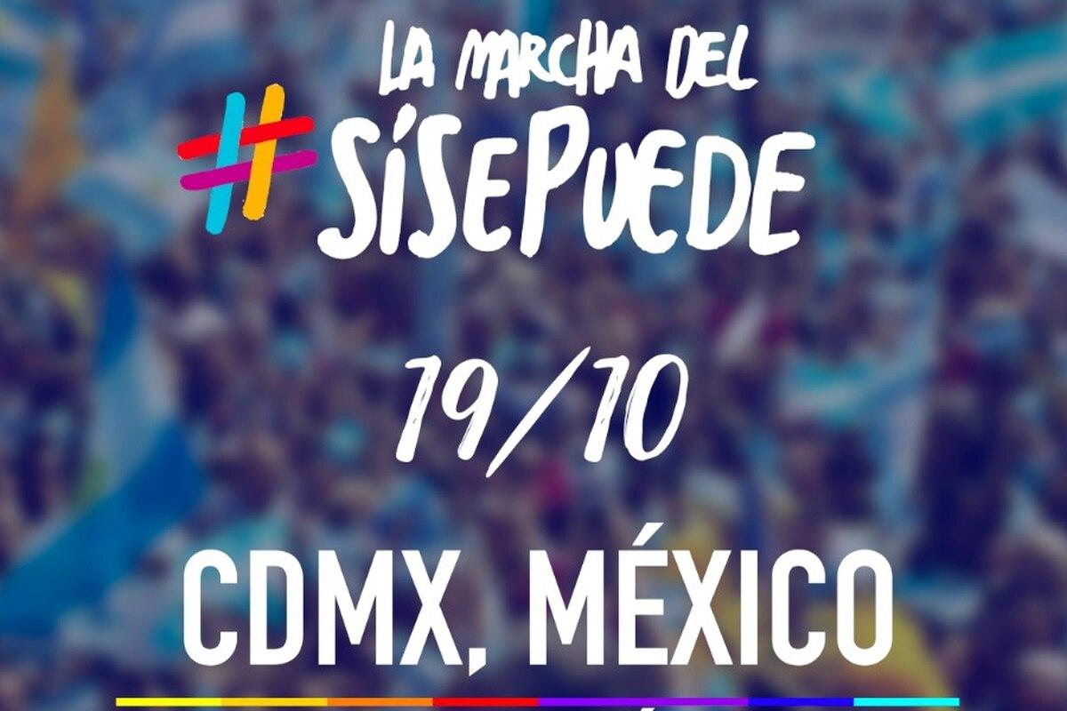 Argentinos residentes en México preparan la marcha del #SíSePuede