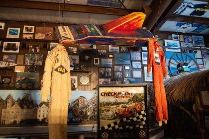 Scioli posee una parte de la lancha accidentada en el museo personal de su casa, en Villa La Ñata