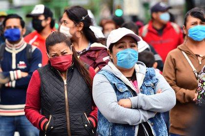 En México se confirmaron 860,714 contagios acumulados de coronavirus hasta el 20 de octubre de 2020 (Foto: EFE/Jorge Núñez)