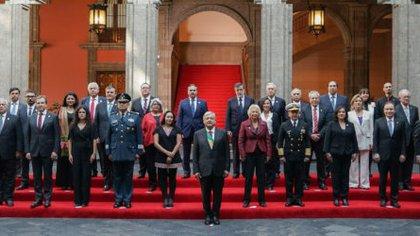 El gabinete de López Obrador presentó su declaración patrimonial el pasado diciembre (Foto: Lópezobrador.org)