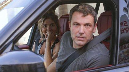 Shauna Sexton y Ben Affleck fueron retratados juntos el 20 de agosto (The Grosby Group)