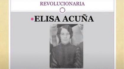 Elisa Acuña fue una de las mujeres más importantes en el periodismo de la Revolución (Foto: INAH)