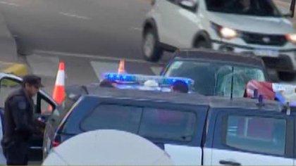 El accidente fue protagonizado por un joven alcoholizado que manejaba un VW Bora negro