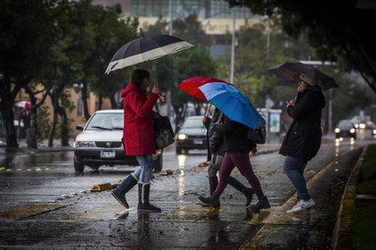 Conagua pronostica  lluvias intensas en el estado de Puebla, Oaxaca, Chiapas, Veracruz y Tabasco. (Foto: Cuartoscuro)