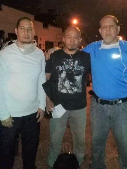 Roque González, Ramón Zapata y Jorge Luis Pérez Izarsa