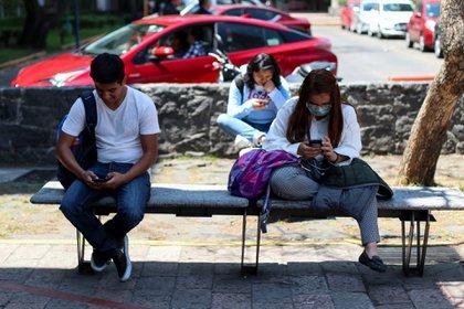 Alumnos universitarios en la Ciudad de México FOTO: GALO CAÑAS /CUARTOSCURO.COM