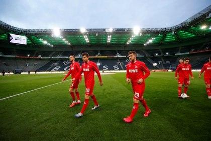 El 1. FC Köln ha jugado el último partido que tuvo la Bundesliga antes de la suspensión (REUTERS)