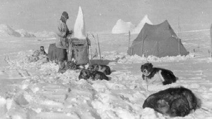 Gustavo Giró fue el primer explorador argentino en atravesar la Antártida (Foto: Fundación Marambio)