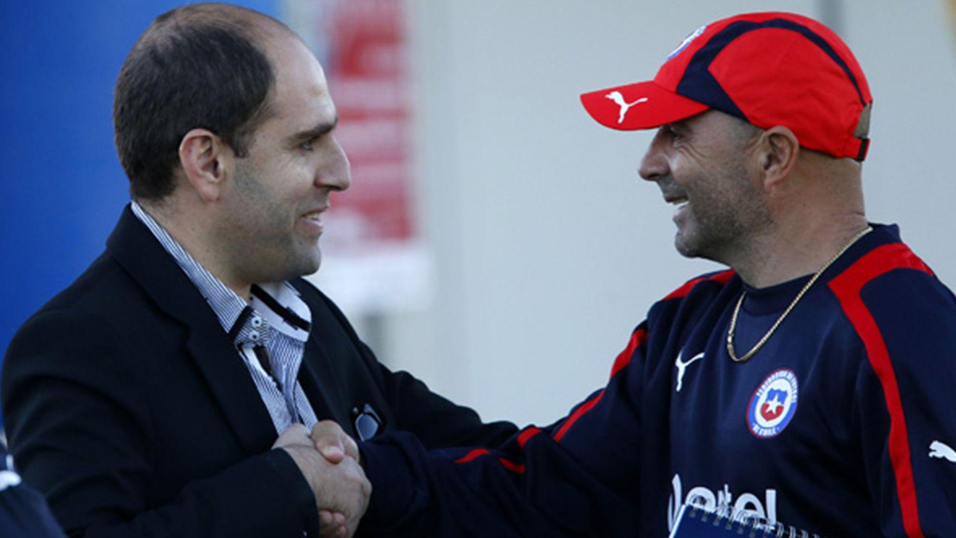 Durante la gestión de Jadue, Chile ganó la Copa América con Jorge Sampaoli como entrenador (EFE)