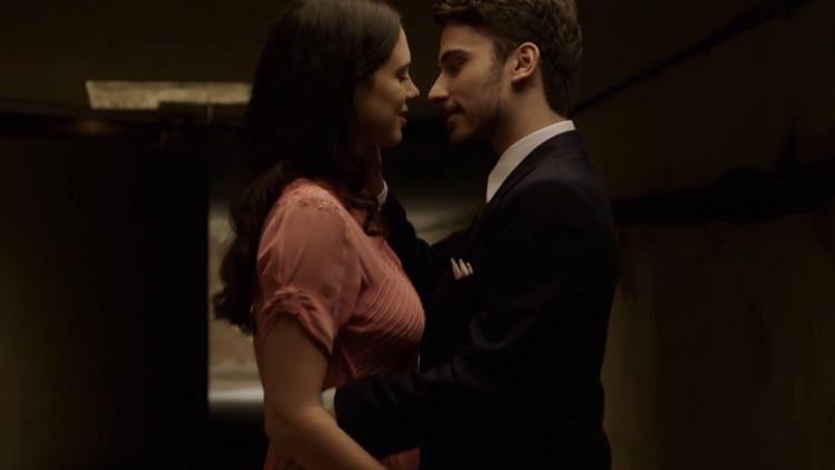 Lucía y Bruno, a solas en el túnel
