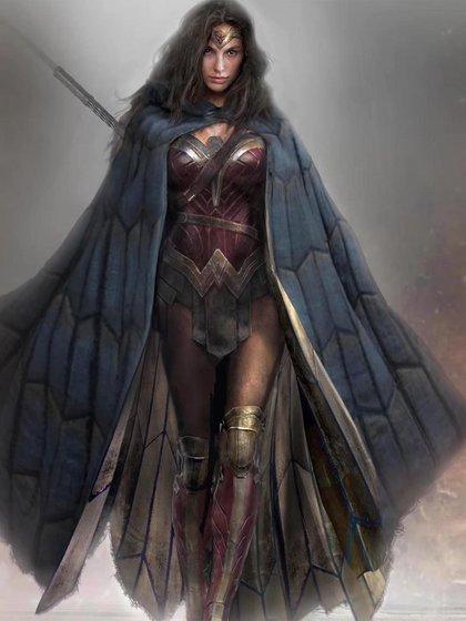 Wonder Woman en la última versión cinematográfica, interpretada por Gal Gadot