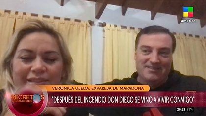 Verónica Ojeda y Mario Baudry hablaron del juicio que continúa la justicia de Estados Unidos contra Claudia Villafañe