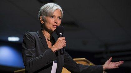 La ex candidata presidencial por el partido Verde de EEUU, Jill Stein (AP)