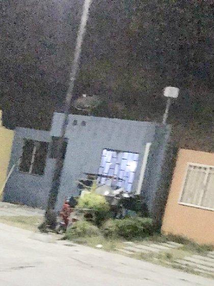 """La casa donde fue capturado """"El Lunares,líder de La Unión Tepito (Foto: Twitter/c4jimenez)"""