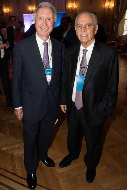 Jorge Di Fiori y Alejandro Bulgheroni