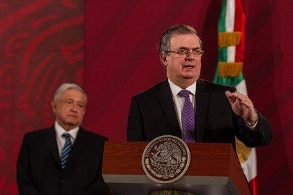 Marcelo Ebrard anunció la entrada a la Fase 2 de la pandemia  (Foto: Andrea Murcia / Cuartoscuro)