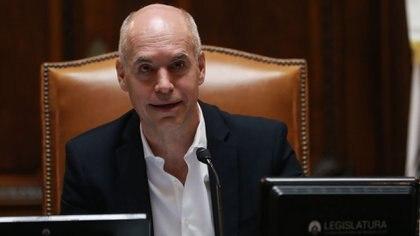 Horacio Rodríguez Larreta, jefe de Gobierno