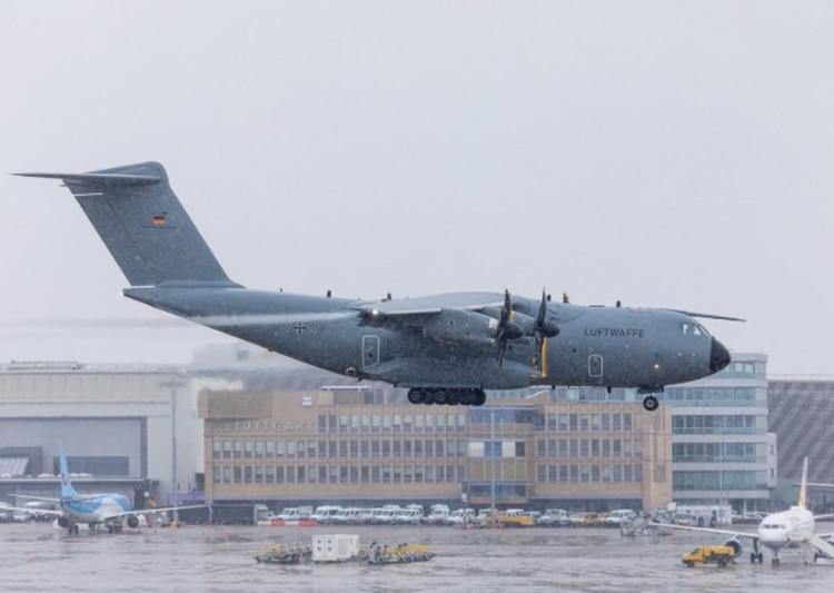 Imagen del A400M (Foto: Twitter Fuerza Aérea Alemana @Team_Luftwaffe)