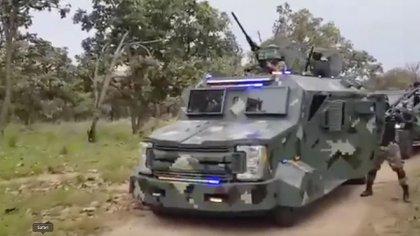 Otros cárteles ya han usado este tipo de vehículos, pero éste es el más sofisticado (Foto: Captura de pantalla)