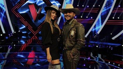 Cristian Nodal y Belinda planean grabar un tema en conjunto (Foto: Instagram@ lavoztvazteca)
