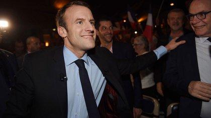 Emmanuel Macron (AFP)