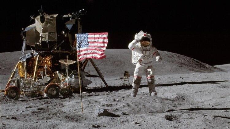Imagen de la Misión Apolo 16 realizada el 21 de abril de 1972 (Foto: NASA)