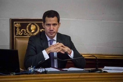 En la imagen, el jefe del Parlamento de Venezuela, Juan Guaidó. EFE/Miguel Gutiérrez/Archivo